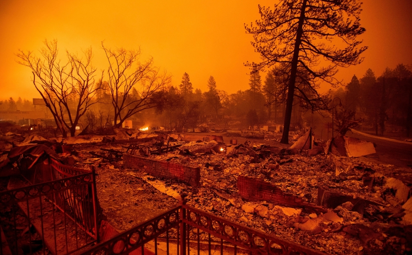 California Wildfires Continue to Displace Families AmidstAftermath